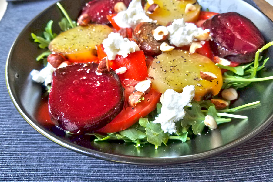Beet & Tomato Salad » Loam Agronomics » Loam Agronomics is ...