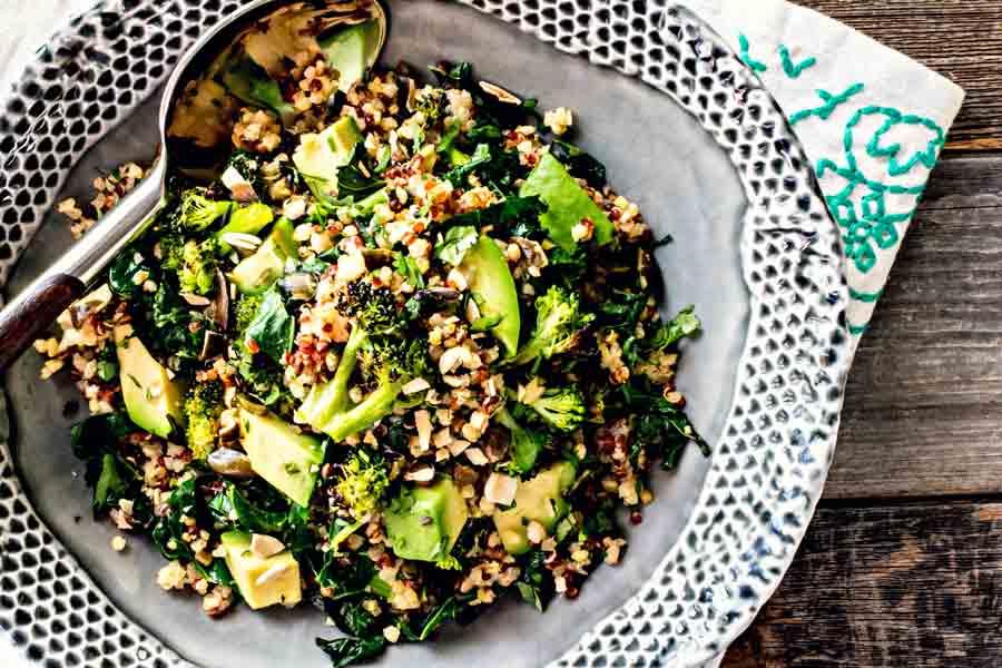 Broccoli Salad Recipe With Quinoa